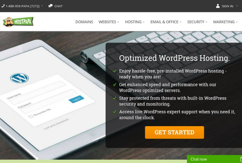 Host Papa WordPress